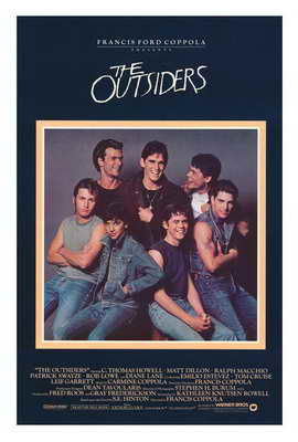 The Outsiders - 27 x 40 Movie Poster - Style B
