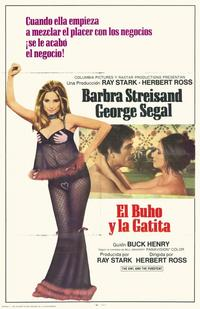 The Owl and the Pussycat - 11 x 17 Movie Poster - Spanish Style A