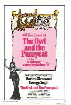 The Owl and the Pussycat - 11 x 17 Movie Poster - Style A
