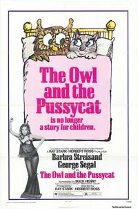 The Owl and the Pussycat - 43 x 62 Movie Poster - Bus Shelter Style A