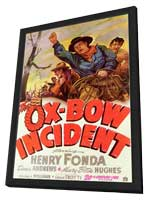 The Ox-Bow Incident - 11 x 17 Movie Poster - Style A - in Deluxe Wood Frame