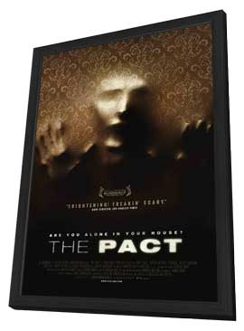 The Pact - 27 x 40 Movie Poster - Style B - in Deluxe Wood Frame