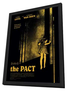 The Pact - 27 x 40 Movie Poster - Style A - in Deluxe Wood Frame