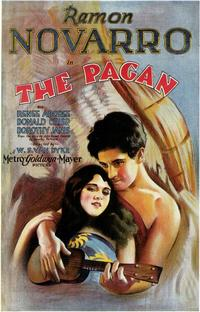 The Pagan - 43 x 62 Movie Poster - Bus Shelter Style A