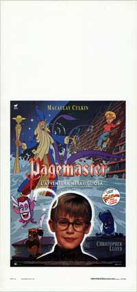The Pagemaster - 13 x 28 Movie Poster - Italian Style A
