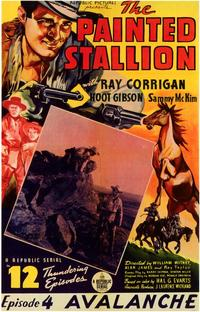 The Painted Stallion - 43 x 62 Movie Poster - Bus Shelter Style A