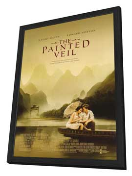 The Painted Veil - 11 x 17 Movie Poster - Style A - in Deluxe Wood Frame