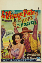 The Paleface - 27 x 40 Movie Poster - Belgian Style A
