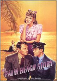 The Palm Beach Story - 11 x 17 Movie Poster - German Style A