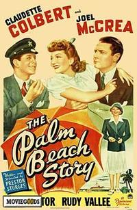 The Palm Beach Story - 43 x 62 Movie Poster - Bus Shelter Style A
