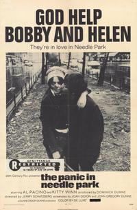 The Panic in Needle Park - 11 x 17 Movie Poster - Style A