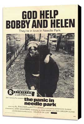 The Panic in Needle Park - 27 x 40 Movie Poster - Style A - Museum Wrapped Canvas