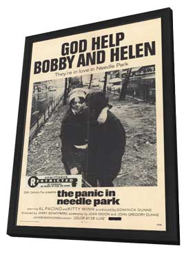 The Panic in Needle Park - 11 x 17 Movie Poster - Style A - in Deluxe Wood Frame