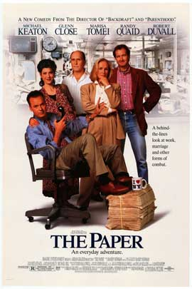 The Paper - Movie Poster - Reproduction - 11 x 17 Style A