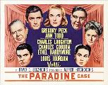 The Paradine Case - 30 x 40 Movie Poster UK - Style B