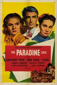 The Paradine Case - 27 x 40 Movie Poster - Style A