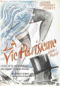 The Parisian Life - 11 x 17 Movie Poster - Swedish Style A
