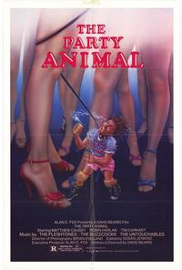 The Party Animal - 11 x 17 Movie Poster - Style A