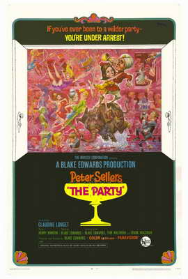 The Party - 11 x 17 Movie Poster - Style B