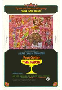 The Party - 43 x 62 Movie Poster - Bus Shelter Style A