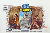 The Party - 11 x 17 Movie Poster - Belgian Style A
