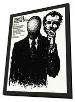 The Passenger - 27 x 40 Movie Poster - Polish Style A - in Deluxe Wood Frame