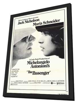 The Passenger - 11 x 17 Movie Poster - Style A - in Deluxe Wood Frame