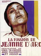 The Passion of Joan of Arc - 11 x 17 Movie Poster - French Style D