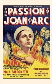 The Passion of Joan of Arc - 11 x 17 Movie Poster - Style A