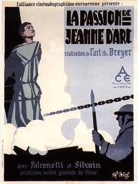 The Passion of Joan of Arc - 11 x 17 Movie Poster - French Style C