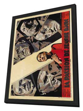The Passion of Joan of Arc - 27 x 40 Movie Poster - French Style B - in Deluxe Wood Frame