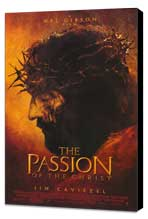 The Passion of the Christ - 27 x 40 Movie Poster - Style A - Museum Wrapped Canvas