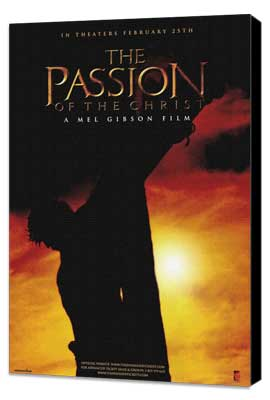 The Passion of the Christ - 27 x 40 Movie Poster - Style D - Museum Wrapped Canvas
