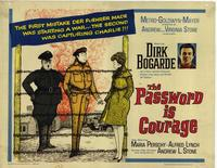 Password Is Courage - 22 x 28 Movie Poster - Half Sheet Style A