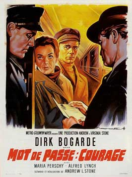 Password Is Courage - 11 x 17 Movie Poster - French Style A