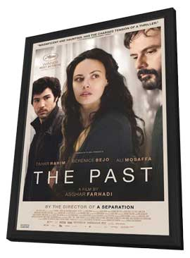 The Past - 11 x 17 Movie Poster - Canadian Style A - in Deluxe Wood Frame