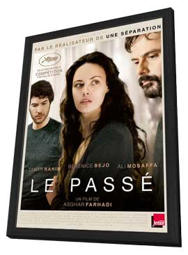 The Past - 27 x 40 Movie Poster - French Style A - in Deluxe Wood Frame