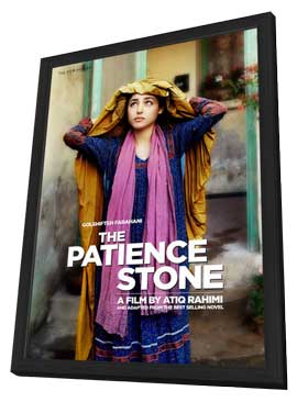 The Patience Stone - 27 x 40 Movie Poster - UK Style A - in Deluxe Wood Frame