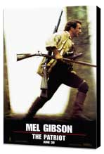 The Patriot - 27 x 40 Movie Poster - Style A - Museum Wrapped Canvas