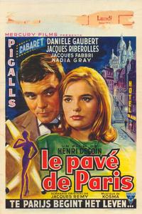 The Pavements of Paris - 27 x 40 Movie Poster - Belgian Style A
