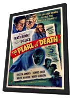 The Pearl of Death - 11 x 17 Movie Poster - Style A - in Deluxe Wood Frame