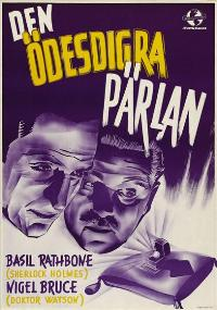 The Pearl of Death - 11 x 17 Movie Poster - Swedish Style A