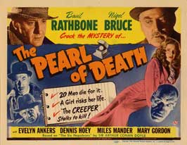 The Pearl of Death - 22 x 28 Movie Poster - Half Sheet Style A