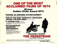 The Pedestrian - 11 x 14 Movie Poster - Style A