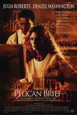 The Pelican Brief - 27 x 40 Movie Poster - Style A