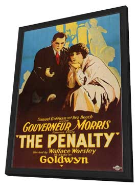 The Penalty - 11 x 17 Movie Poster - Style A - in Deluxe Wood Frame