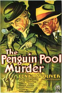 The Penguin Pool Murder - 43 x 62 Movie Poster - Bus Shelter Style A