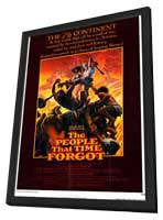 The People That Time Forgot - 11 x 17 Movie Poster - Style A - in Deluxe Wood Frame