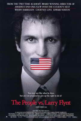 The People vs. Larry Flynt - 11 x 17 Movie Poster - Style A