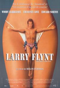 The People vs. Larry Flynt - 11 x 17 Movie Poster - French Style A